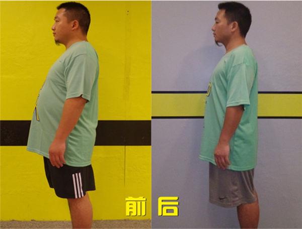 刘岸林减肥成功案例 56天减重31斤