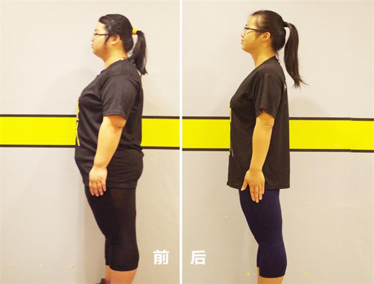 胡绮雯减肥成功案例 124天减重80斤